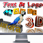 Aurora 3D Text Logo Maker 14.10.21 Full indir