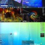 Windows 7 Aero Şeffaf Temalar 2013 Full indir