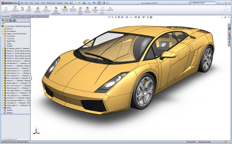 برنامج SolidWorks 2014 SP3.0 (Win32/Win64)