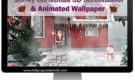 Snowy Christmas 3D Noel Ekran Koruyucusu Full Tam indir