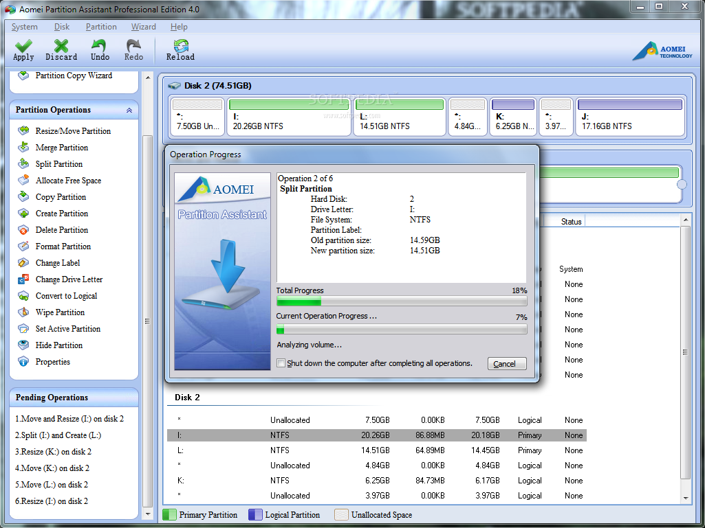 aomei partition assistant professional edition full