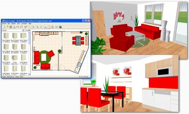 Room arranger t rk e full 9 5 86 x64 bit full for Programa para decorar interiores