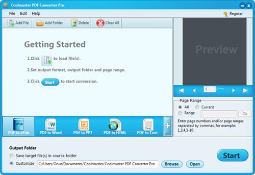 Coolmuster PDF Converter Pro Full 2.1.21 İndir | Full