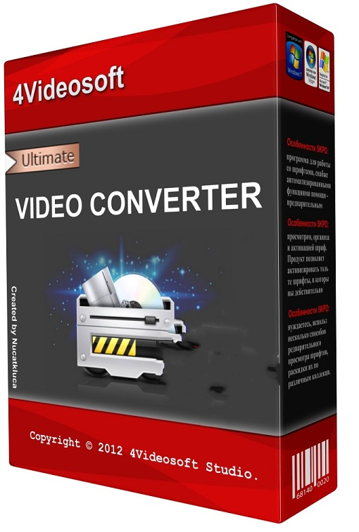 4Videosoft Video Converter Ultimate v5.2.6.20881 - ENG