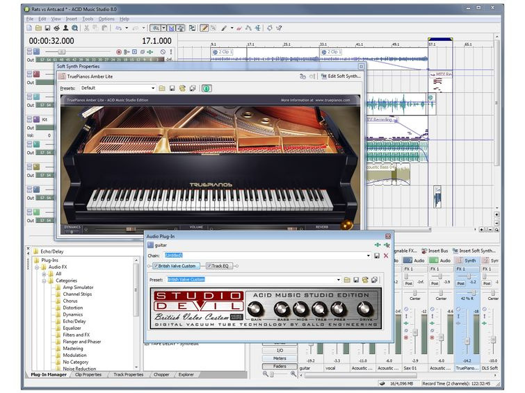 Acid Pro 4.0 Plugins Free Download