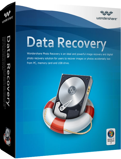 �� ���� ����� ������� ������� �������� Wondershare Data Recovery 4.7.0.5