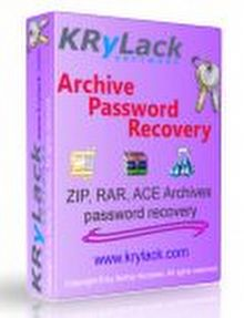 KRyLack RAR Password Recovery Full 3.51.62