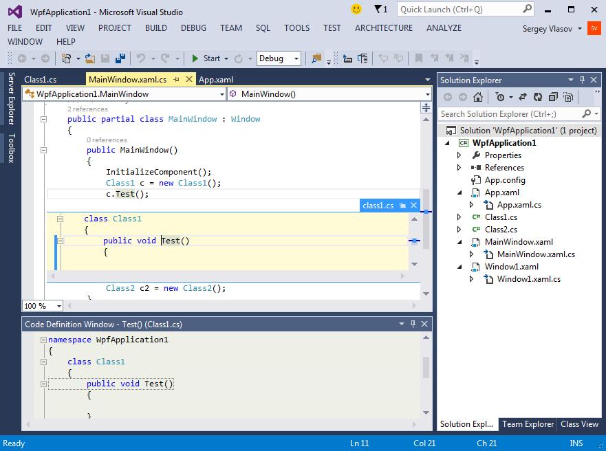 Visual Studio Publish Application