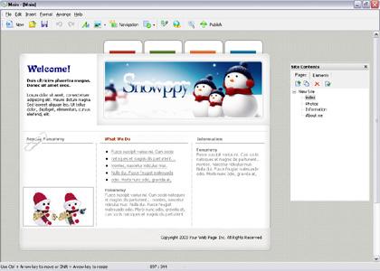 Homepage maker