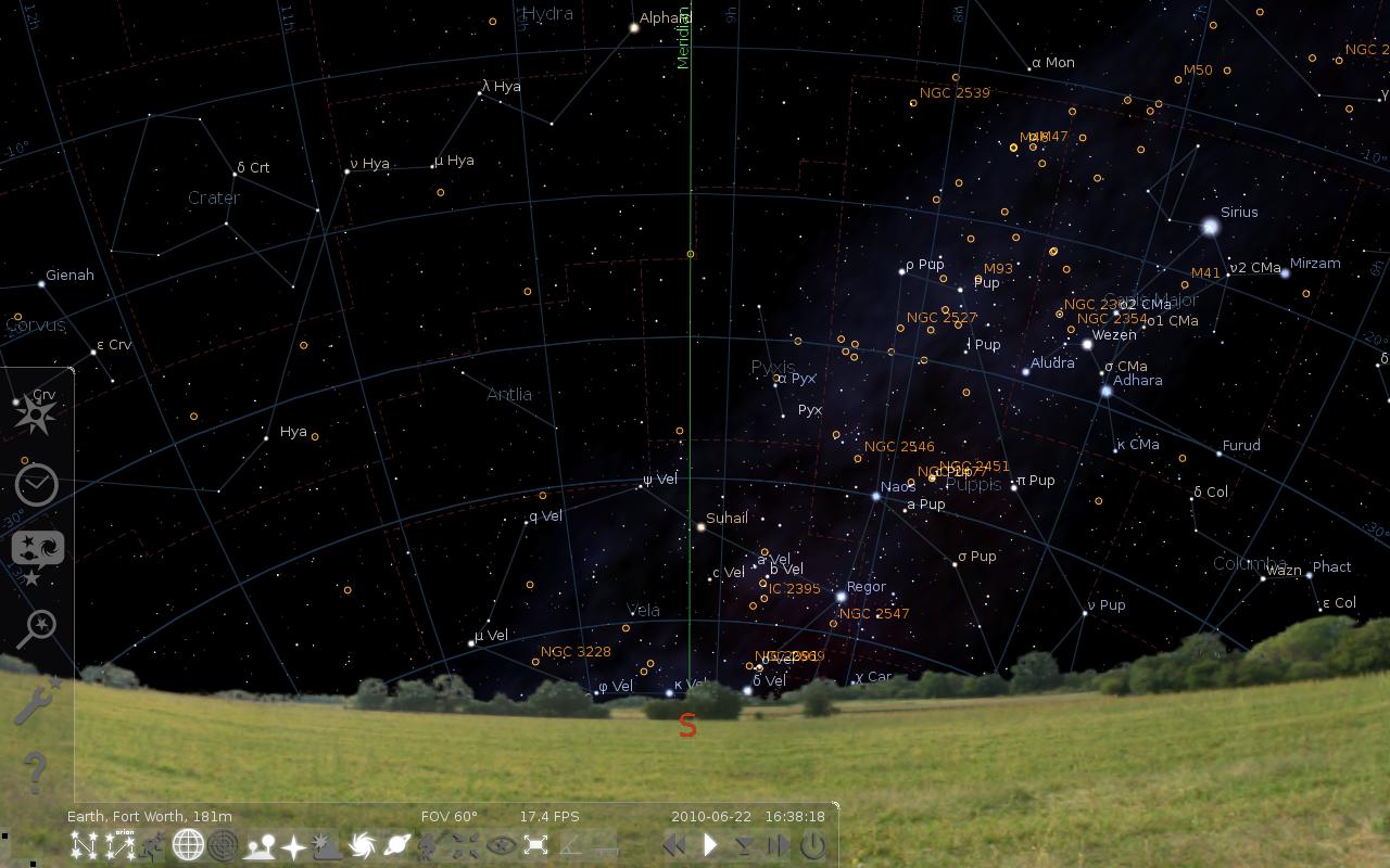 Computer Programs Stellarium_full_screen01