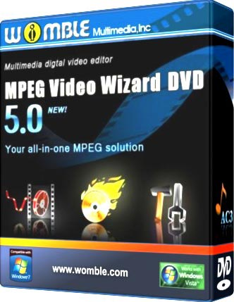 Womble MPEG Video Wizard DVD Full 5.0.1.112 İndir