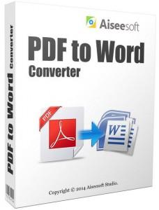 Aiseesoft PDF to World Converter