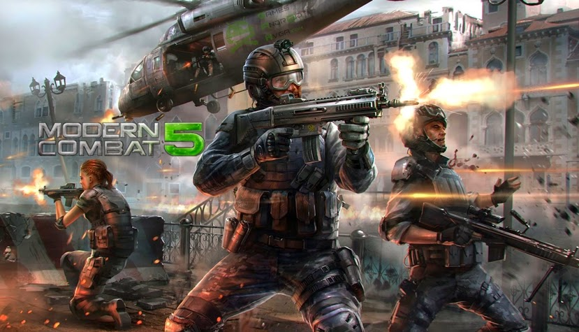 Image result for Modern Combat 5: Blackout