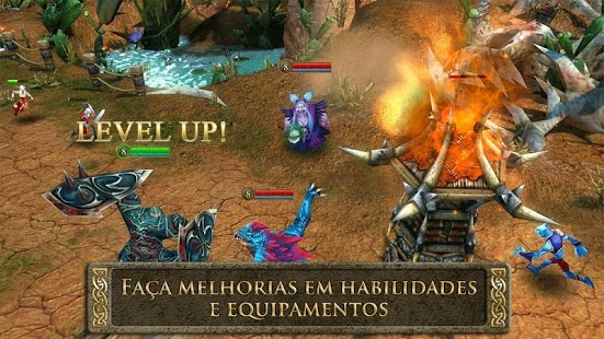 Heroes of Order & Chaos Apk Full 3.0.0i + Data Mod Hile İndir Android