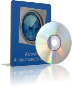 Caja Acronis Antimalware Scan CD