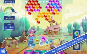 Bubble Witch 2 Saga Apk Full v1.40.3 Mod Hile