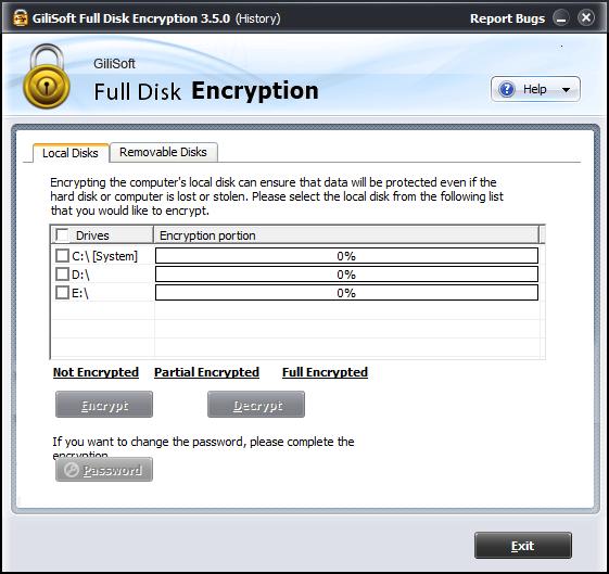bilgisayar diski şifreleme programını indir