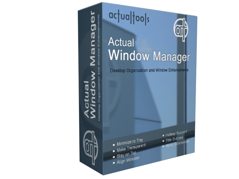 Actual Window Minimizer 8.3
