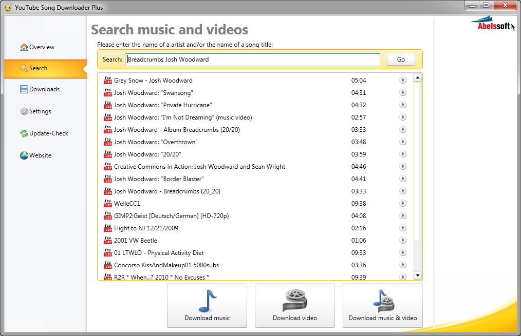 Resultado de imagen para YouTube Song Downloader Plus