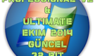 Windows 7 Pro Vl & Ultimate Güncell 2014 Ekim 32 Bit TR