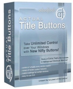 Actual Title Buttons v8.13 Full İndir
