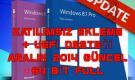 Windows 8.1 Pro Vl Update 3 + Katılımsız Ekleme Güncell