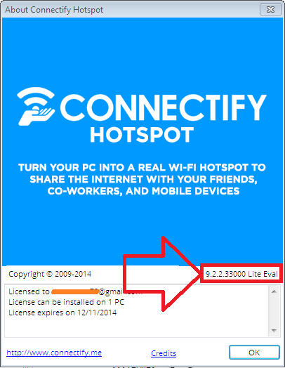Connectify hotspot cf100000 invalid settings - b2
