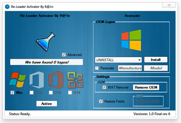 Windows + Office Re-Loader Activator v2.0 Full indir