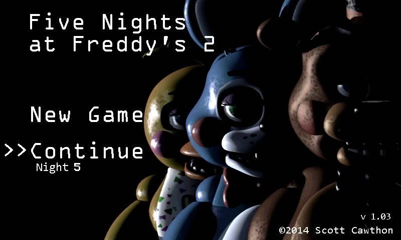 5 nights at freddys 2 apk 1.07