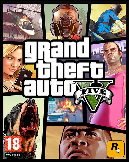 GTA 5 2015 Unlocked + Full Torrent indir