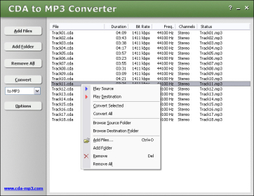 cda to mp3 online file converter