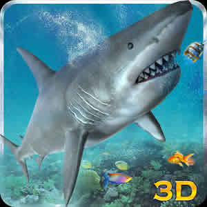 Hungry-White-Shark-Revenge3d-Android-resim