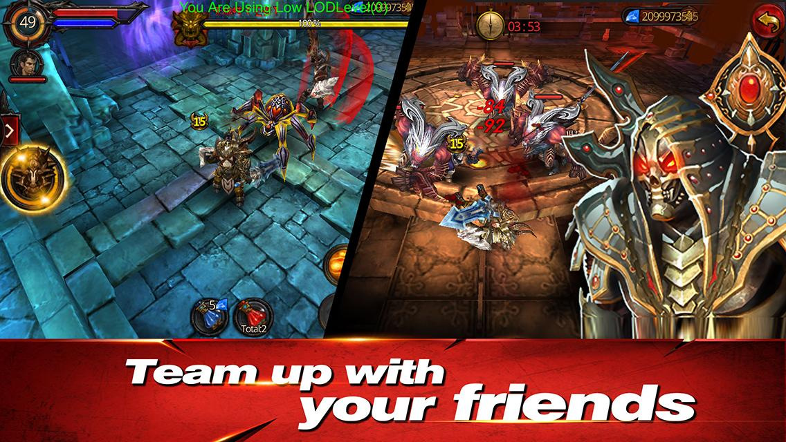 Rise of Darkness 1.2 Mod Hile + DATA Apk indir