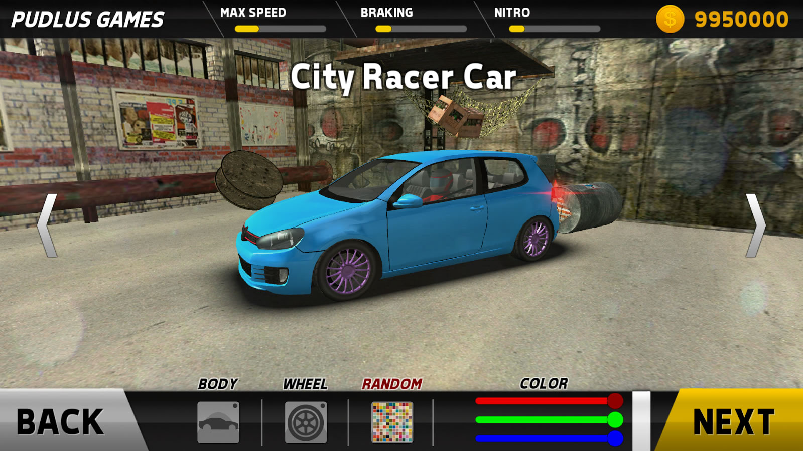 Hot Racer 1.1 Android Full Apk indir