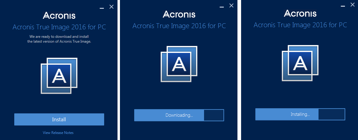 Acronis True Image 2016 Full 19.0 Build 5628 Bootable ISO İndir