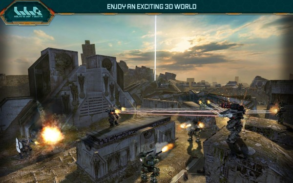 Walking War Robots Apk indir 2