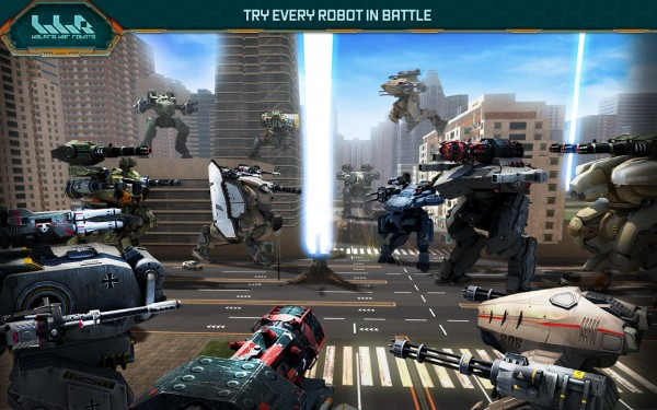 Walking War Robots Apk indir 1