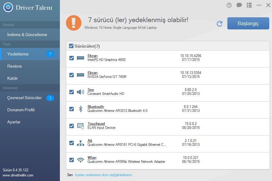 OSToto Driver Talent Full Türkçe 6.4.37.126