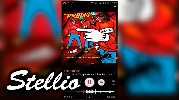 Stellio Music Player Apk Full v1 3 6 Android | Full Program \u0130ndir