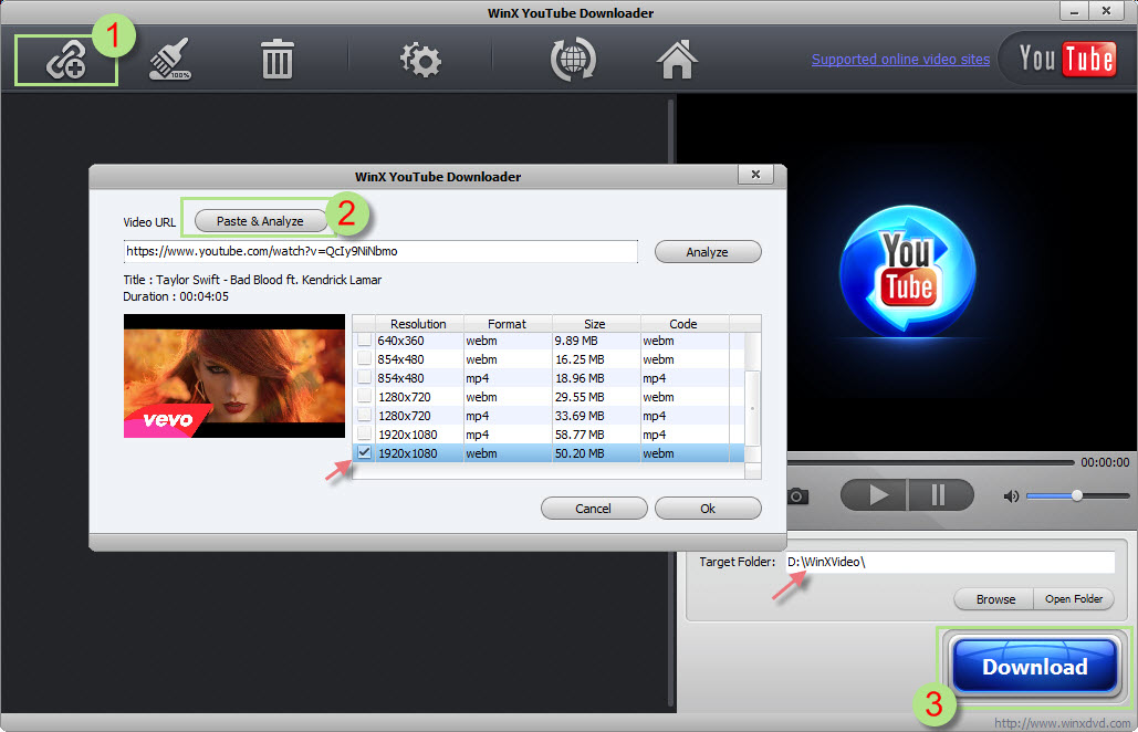 YouTube Downloader More - Freemake's FREE Video Download