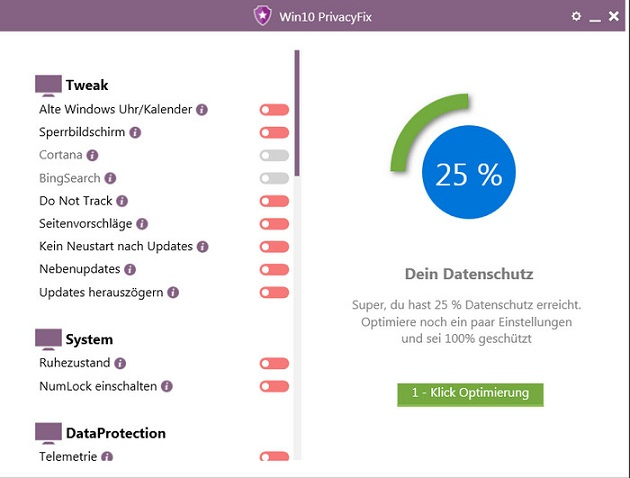 Abelssoft Win10 PrivacyFix İndir 2018.2.0 Full Download