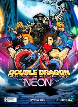 Double_Dragon_Neon_promotional_poster