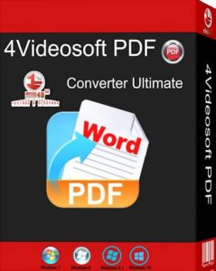 4Videosoft-PDF-Converter-Ultimate-3.1.8-Cracked