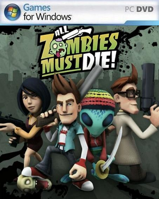 All Zombies Must Die PC Game Free Download Cover