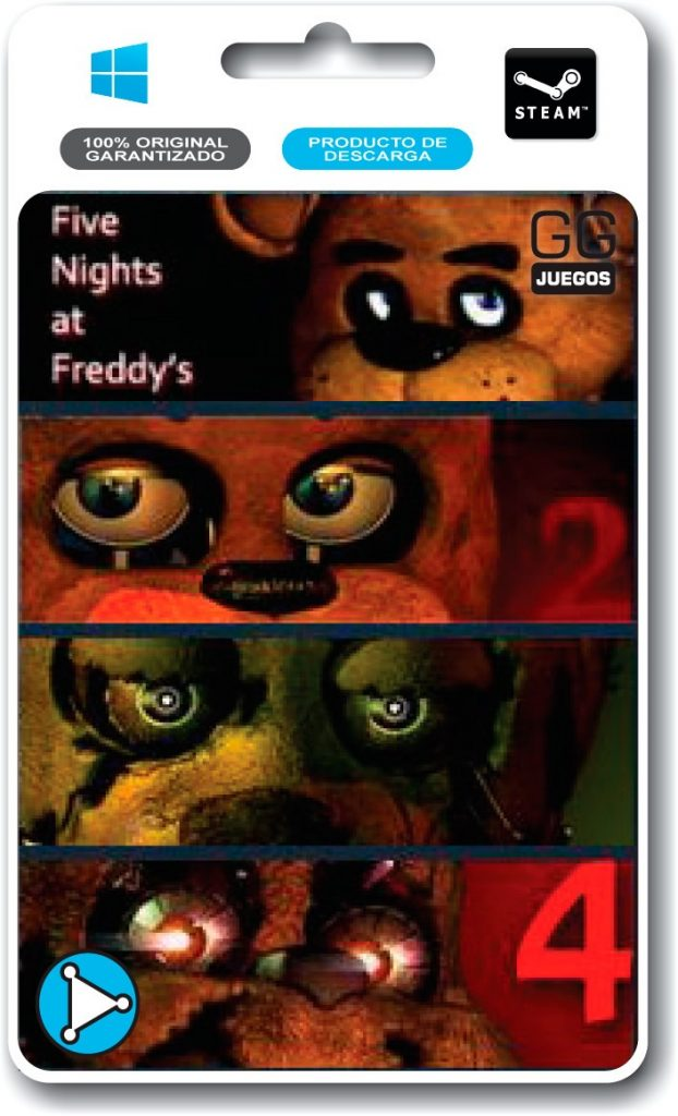 five nights at freddys franchise pack 1