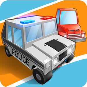 Blocky Cop Pursuit Terrorist3
