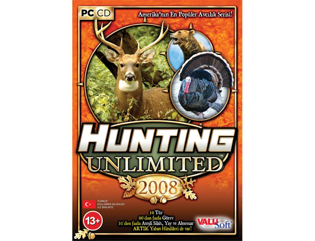 hunting_unlimited_2008_pc_yazilim
