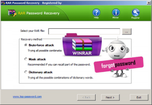 top-password-RAR-Password-Recovery