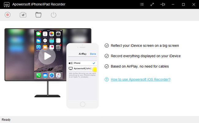 Apowersoft iPhone iPad Recorder Full 1.4.4 İndir Türkçe