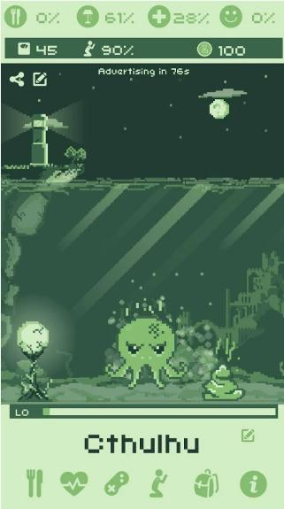 cthulhu-virtual-pet